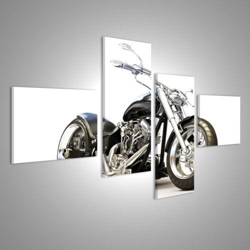 super Chopper Motorrad HD Bild auf Leinwand ARI-4LP