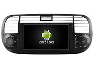 AUTORADIO DVD/GPS/NAVI/BT/RADIO/ANDROID 4.4.4/DAB Player FIAT 500 2007-2015 M315