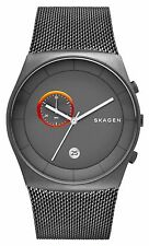 Skagen Men's Havene Stainless Steel Chronograph Watch, Mesh Strap, SKW6186