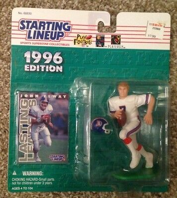 Kenner Starting Lineup Card SLU Denver Broncos 1988  RULON JONES