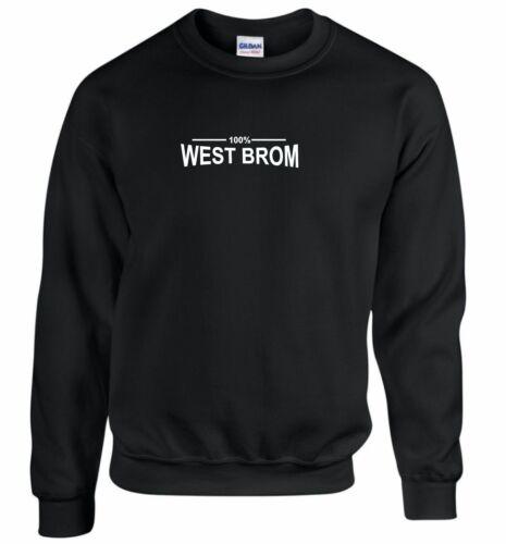 100/% West Brom ventilateur Sweat Enfants