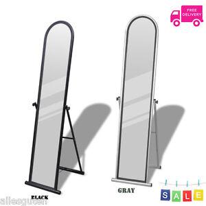 Free Standing Floor Mirror Long Full Body Length