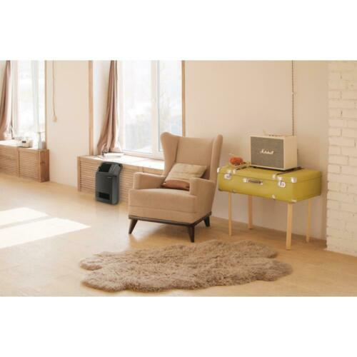 Ceramic Console Heater Electric Cyclonic with Remote Thermostat Timer 23 in