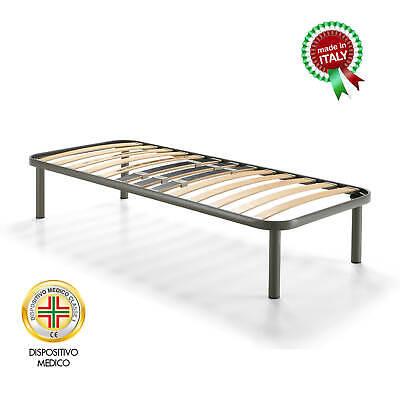 Goldflex Materassi Romano D Ezzelino.Goldflex Rete Holly Plus Telaio In Acciaio Doghe In Faggio 80 120