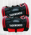 taekwondo sports duffle bag, taekwondo sparring gear duffle bag