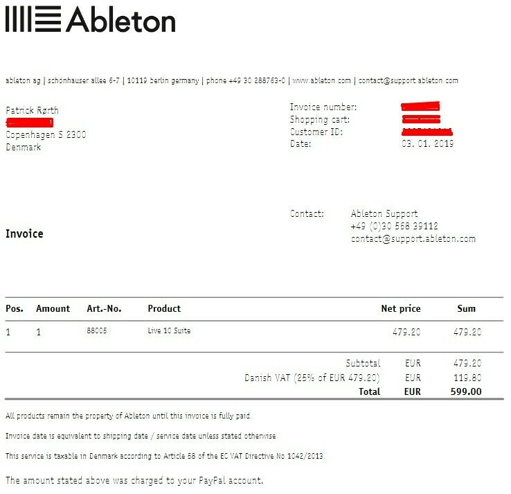 Ableton 10 Live Suite Software