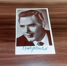 Joachim Fuchsberger, original signed/signierte alte Ak/Postcard ca. 10x15 cm