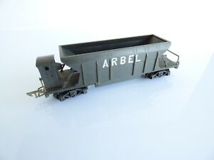 JEP-HO-WAGON-TREMIE-ARBEL-A-BOGIES-3-RAILS