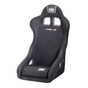 FIA-OMP-TRS-E-XL-BLACK-RACE-RALLY-BUCKET-SEAT-Steel-Frame-Velour-DELIVERY