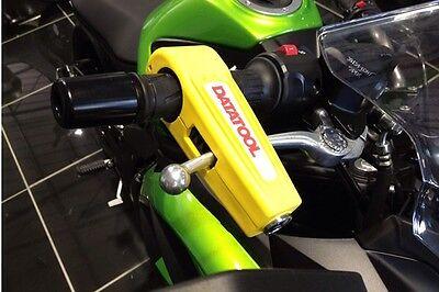 DATATOOL CROC-LOCK Motorcycle Security Handlebar Grip Lock