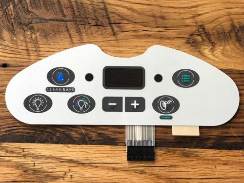 Sundance Jacuzzi Spas Touch Control Panel PN 6660-713 Replacement Parts