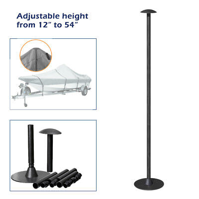 """Boat Cover Support Pole adjustable height from 12/"""" to 54/"""""""