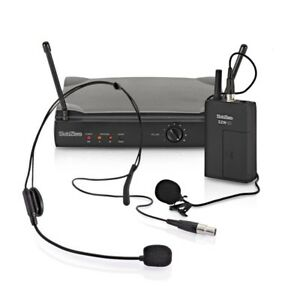 subzero szw 20 lavalier and headset wireless microphone system 5055888811878 ebay. Black Bedroom Furniture Sets. Home Design Ideas