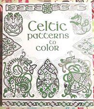 usborne coloring book celtic patterns new paperback - Usborne Coloring Books