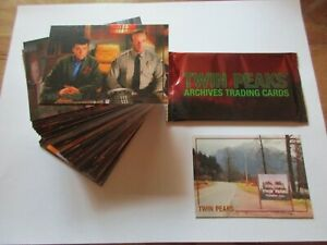 2019-Twin-Peaks-Archives-Trading-Cards-Complete-BASE-SET-SEALED-PACK-amp-PROMO-P1