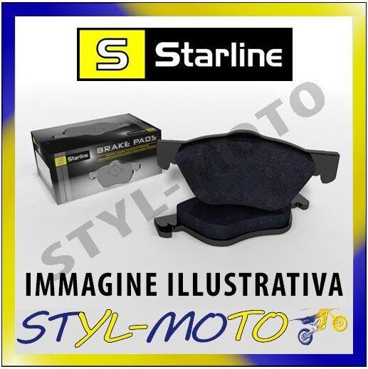 PASTIGLIE ANTERIORI STARLINE BD S725 RENAULT SCENIC 3A SERIE 1.5 81 KW ATE 2009