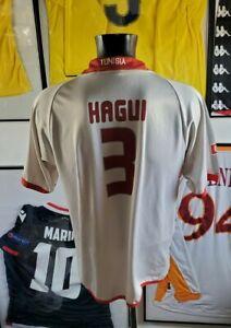 Maillot jersey shirt maglia camiseta trikot tunisie tunisia hagui 2004 04 can L