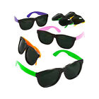 NEON Fun Assorted Party Sunglasses 80s Pool Party Favors 12 pc