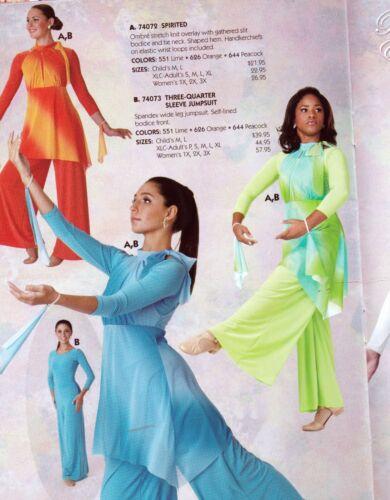 Tie dye mesh Praise Dance Top Tunic with Wrist flyers 3 colors Praisewear church