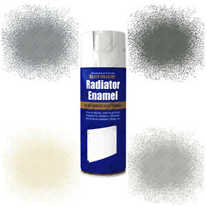Cast Iron Paint >> Details About Rust Oleum Radiator Enamel Aerosol Spray Paint White Chrome Silver Cast Iron
