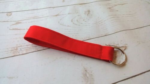 "Handmade Wristlet Wrist Strap Keychain Key Fob Zipper Pull 1x 6/"" Assorted Gifts"