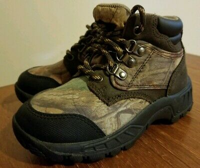 Clothing, Shoes & Accessories Boys' Shoes Painstaking Ozark Trail Boone 05 Size 10 Childrens Boots Camo Print
