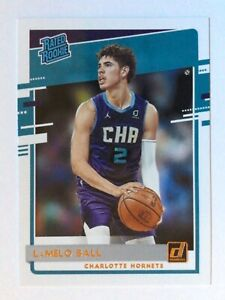 2020-21 Panini Donruss LaMelo Ball Rated Rookie Charlotte Hornets #202