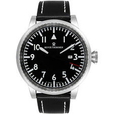 Revue Thommen Uhr Airspeed Automatik Herrenuhr Saphirglas 16053.2537 UVP 1200€