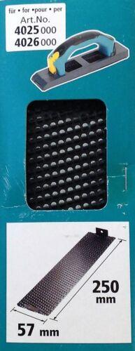 Wolfcraft Raspelplatte für Kantenhobel Handschleifer 4041000 4025000 4026000