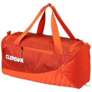 5d18698f74a6 Nike Vapor Max Air Clemson Tigers Orange Training Duffle Bag NEW ...