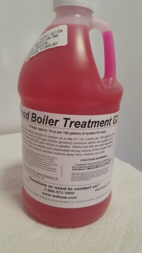 6 Full Case Wood Boiler Treatment G2 W//Chemical Detection Technology 2Qt.