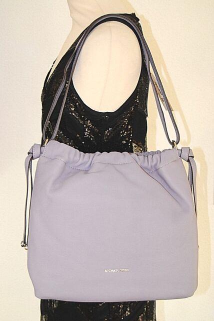 MICHAEL KORS Handtasche Neu 395€ Angelina lilac flieder Leder Tasche Bag