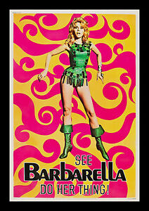 BARBARELLA * 40x60 CineMasterpieces ORIGINAL VINTAGE MOVIE ...