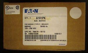 CUTLER HAMMER A1X1LB 1A 1B 600 VAC F Frame Auxiliary Switch 1490D72G56