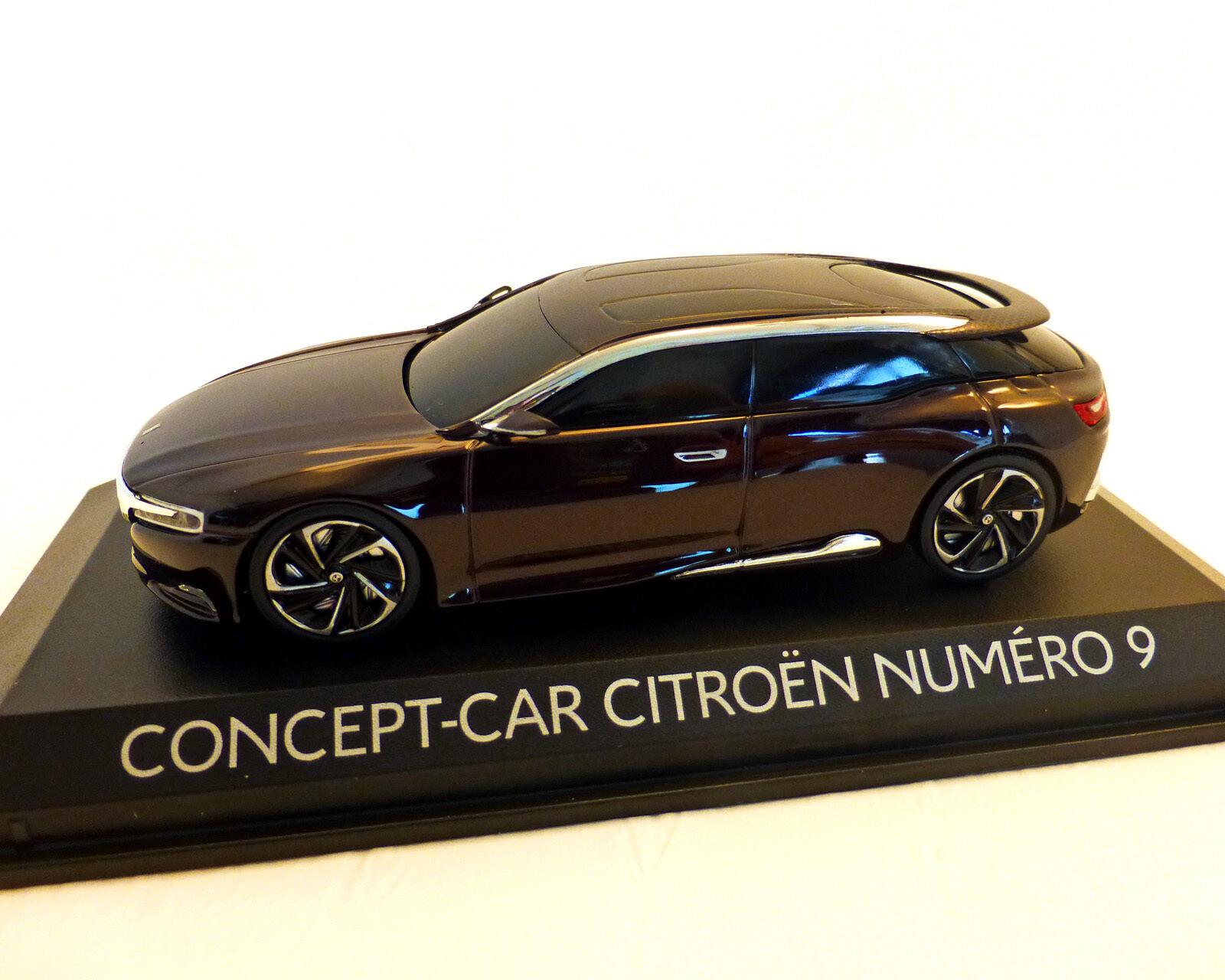 CITROEN Concept Car, NUMERO 9, NOREV 1 43