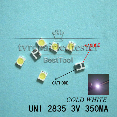 LED Backlight High Power LED 1W 3V 1210 3528 2835 Cool white LCD Backlight