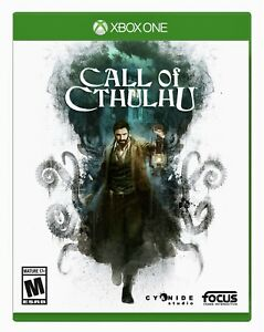 Call of Cthulhu: Xbox One BRAND NEW FACTORY SEALED XB1 Video Game Free Shipping!