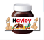 thumbnail 15 - CHRISTMAS Personalised fits Nut Chocolate Spread Jar LABEL Sticker Gift XMAS