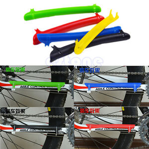 Mountain Bike Cycling Bicycle Frame Chain Chainstay Protector Cover Guard Pad N