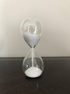 Diamante-Crystal-Glitter-Sparkle-Sand-Timer-Hourglass-Piece