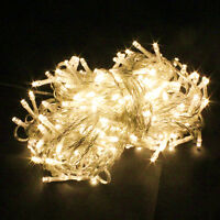 20/40/80/100/200/300/400/600 LED Fairy String Lights Wedding Xmas Outdoor/Indoor