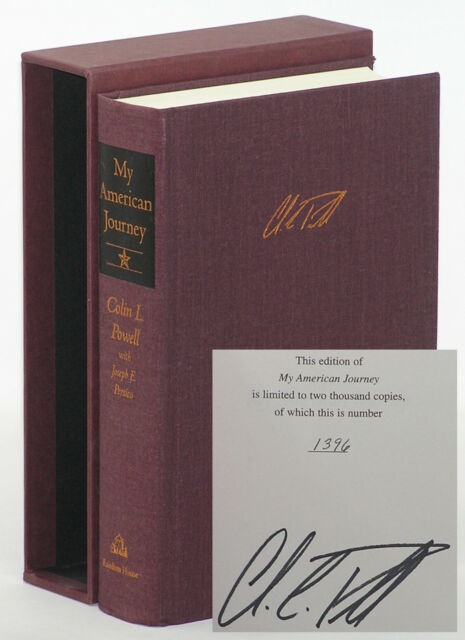 Colin Powell: My American Journey SIGNED LIMITED EDITION