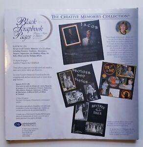 NIP Creative Memories 7x7 Album Refill Pages