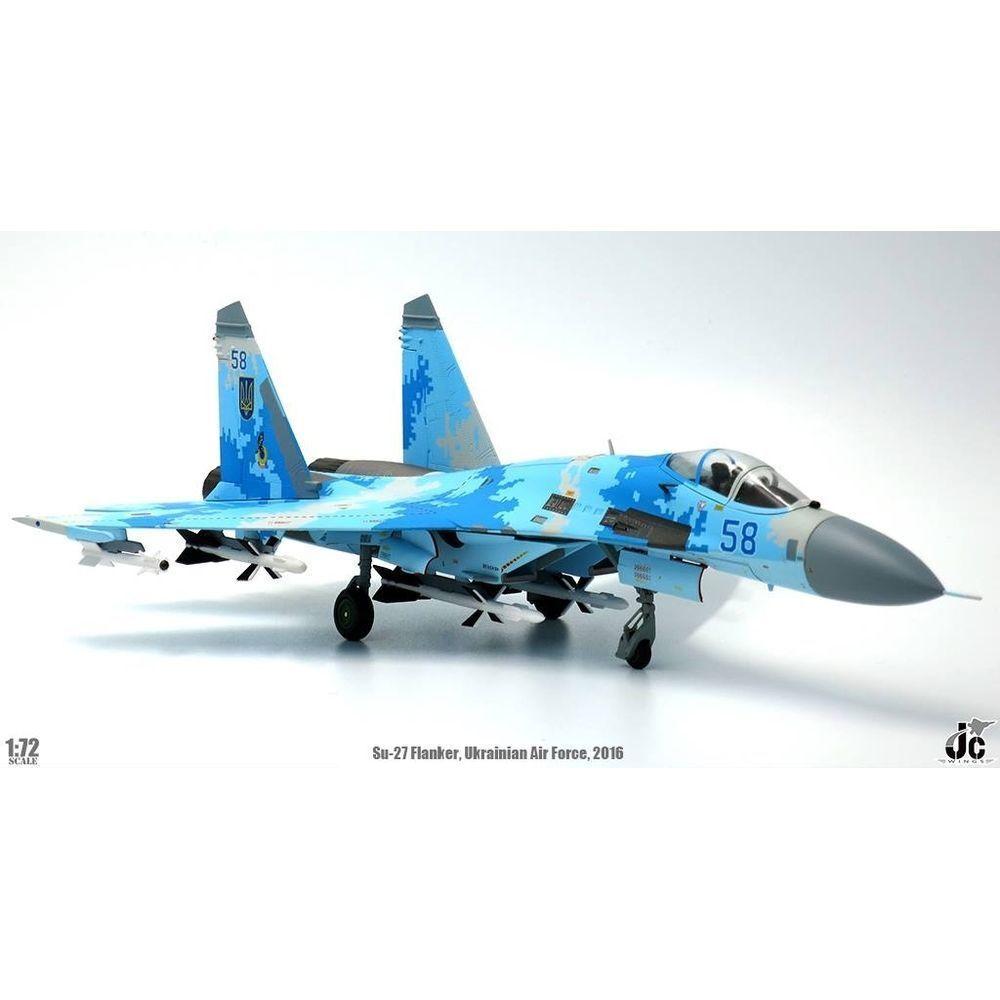 Jc Wings JCW-72-SU27-004, SU-27UB accionariado-C Kazajstán Fuerza Aérea, base de aire 604th
