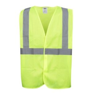 🌟Cordova High Visibility Lime Reflective Mesh Safety Vest, Large, ANSI Class 2