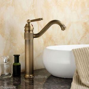 Best Vessel Sink Faucet : ... Bronze-Bathroom-Basin-Faucet-Counter-Top-Swivel-Sink-Mixer-Vessel-Tap