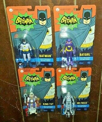 Choose From ☆4☆ Characters! Batman Classic TV Series Poseable Action Figures
