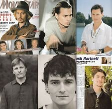 Moviestar Johnny Depp,Viggo Mortensen,Orlando Bloom, Josh Hartnett,Sean Bean