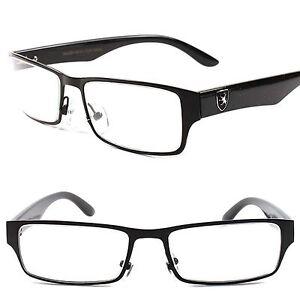 08b626b196 Fashion Casual Nerd Clear Lens Black Men s Women s Eye Glasses Rx ...