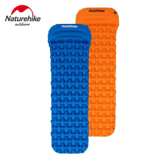 Naturehike Portable Inflatable Mattress Camping Hiking Air Bed Mat Sleeping Pad
